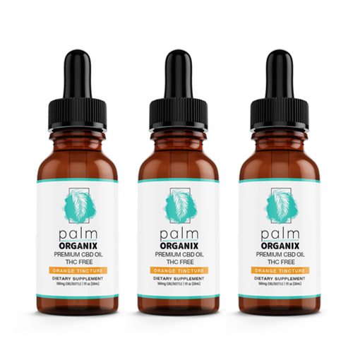 Buy CBD Oil Tinctures Orange on Sale