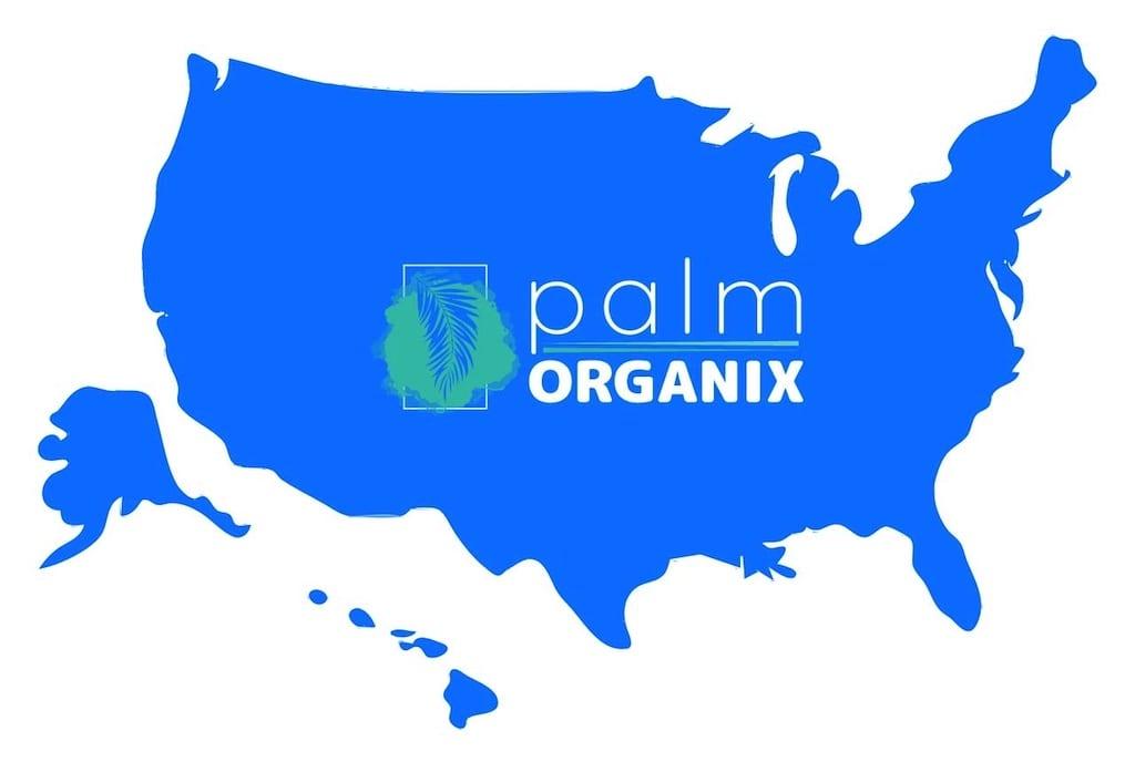 palm organix areas we serve