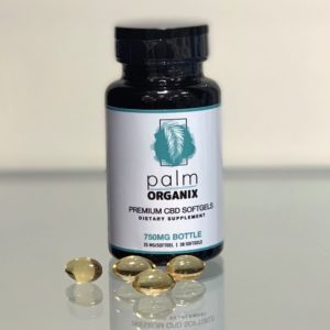 Wholesale CBD Oil Near Me White Label CBD Softgels Palm Organix