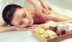 CBD Salve Massage