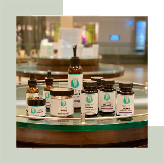 Broad Spectrum CBD Oil from Palm Organix Ships Free throughout the USA!