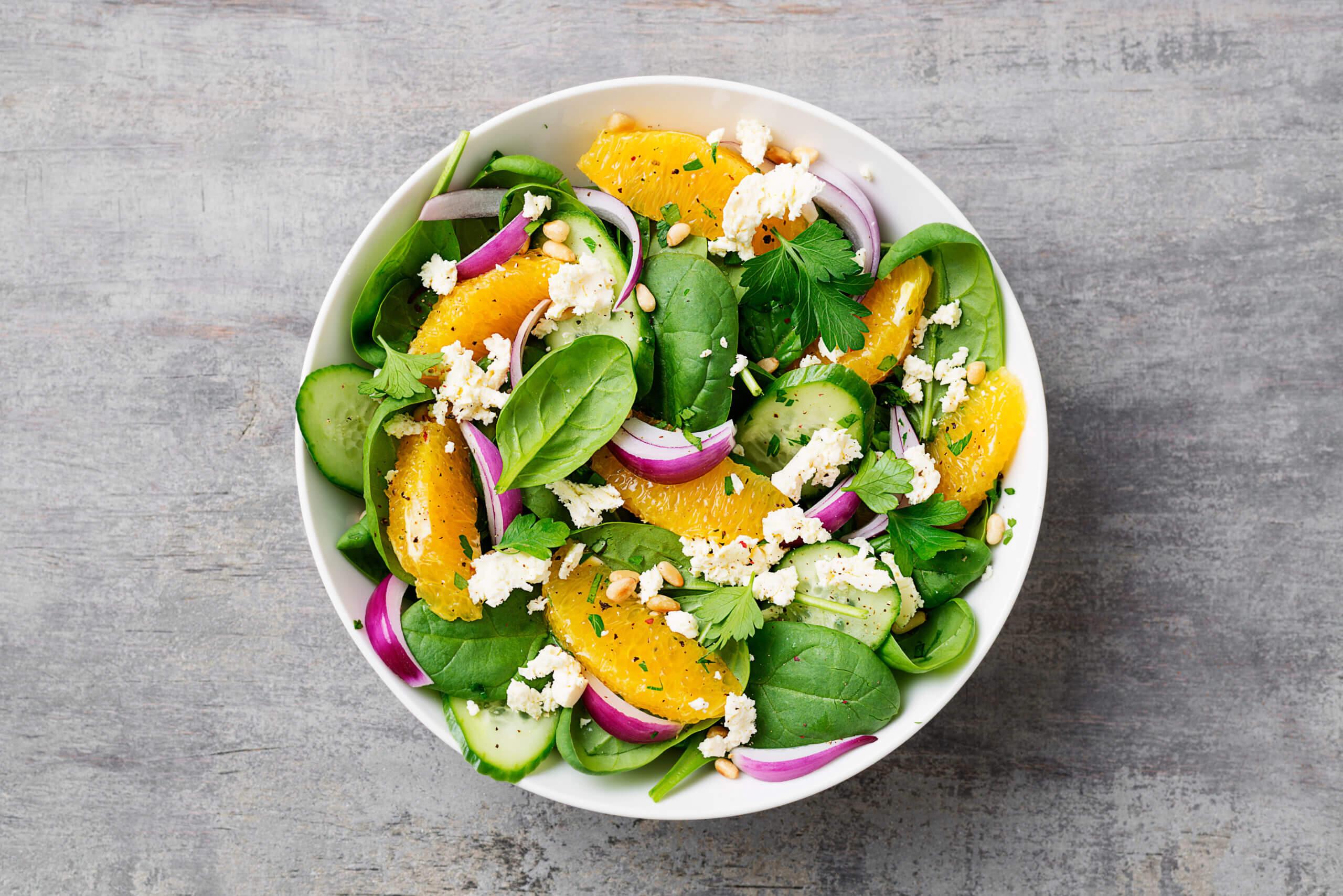 CBD Oil Summer Salad Recipe scaled