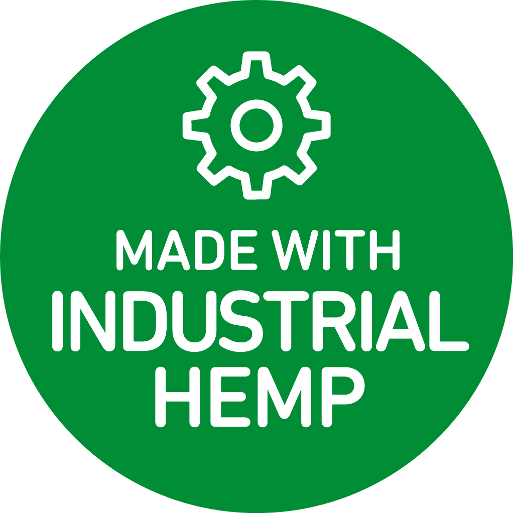 made with industrial hemp